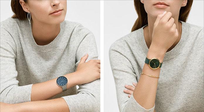 Minimalistyczna elegancja zegarków Skagen